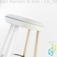 Carl Hansen&Son CH56 Bar stool