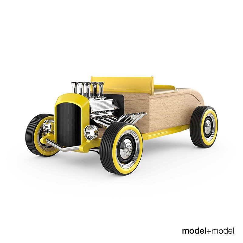 moblox hot rod 3d model