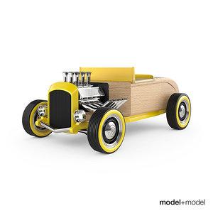moblox hot rod 3d model