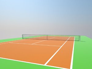tennis court 3ds