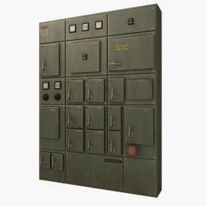 ready switchgear 3d model