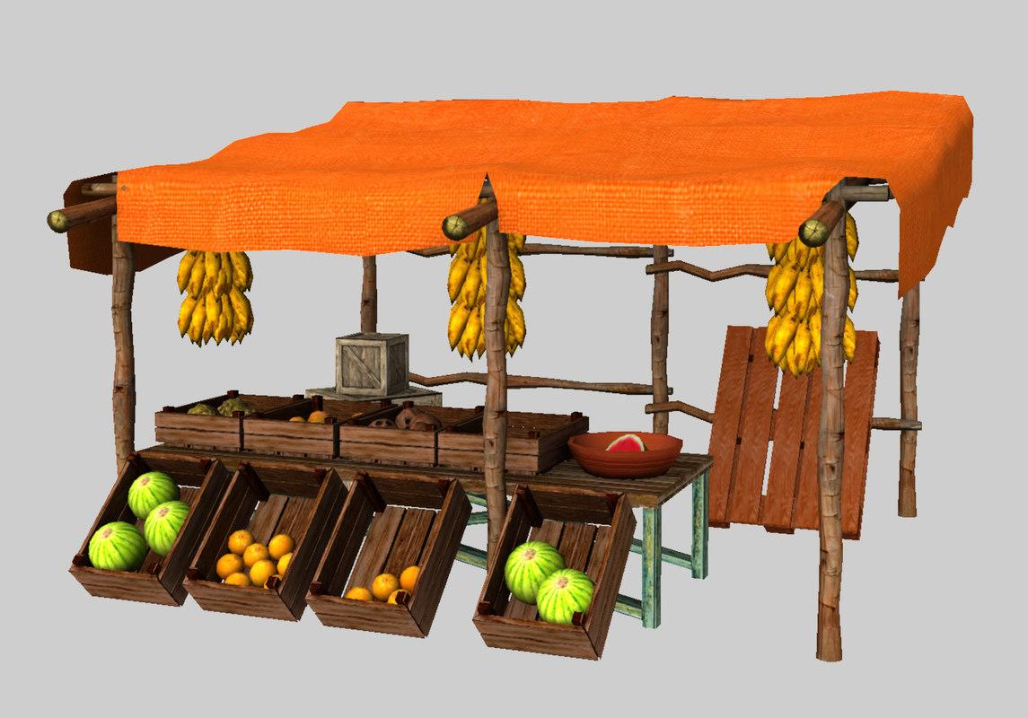 arabic fruit model