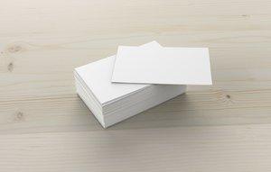 business card obj