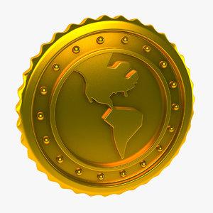 world coin 3d max