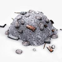 3d model garbage
