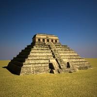 3d palenque mexico