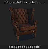 3d armchair engine