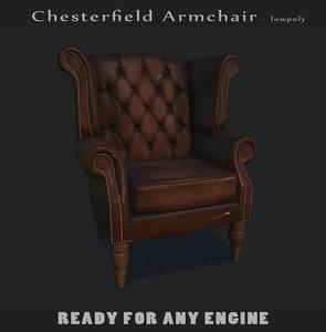 3d armchair engine