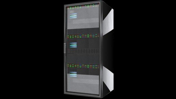 cpu server rack unit c4d