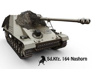 3d sd kfz 164 nashorn