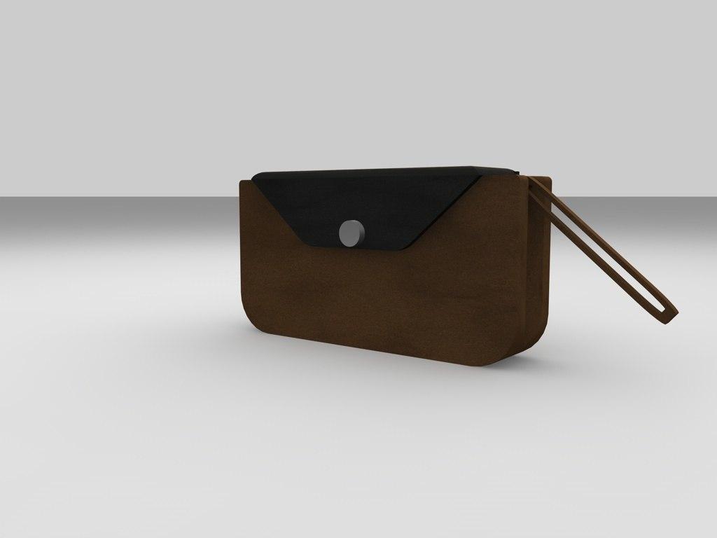 free clutch 3d model