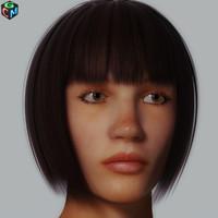 realistic woman debora max