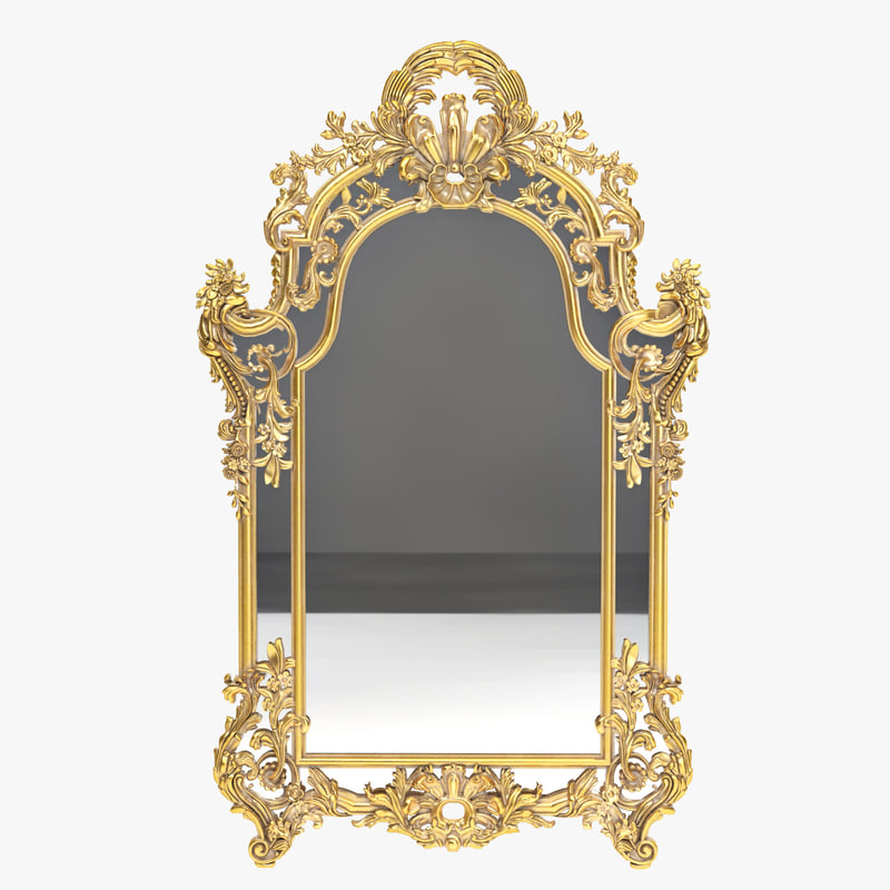 3d chelini mirror 282 model