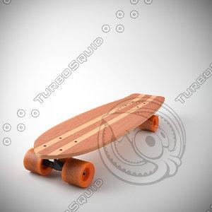 skateboard longboard max