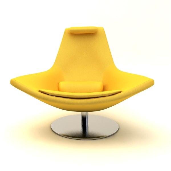 metropolitan armchair 3d max
