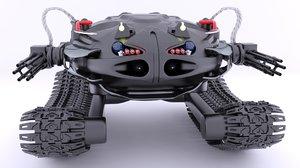combat robot 3d 3ds