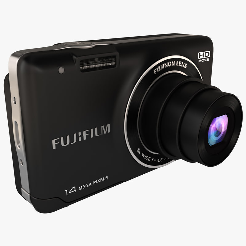 digital camera fujifilm finepix 3d model