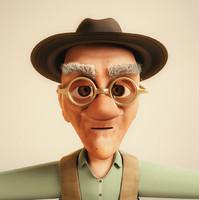 3dsmax old man