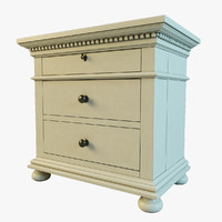 STJames Closed Nightstand