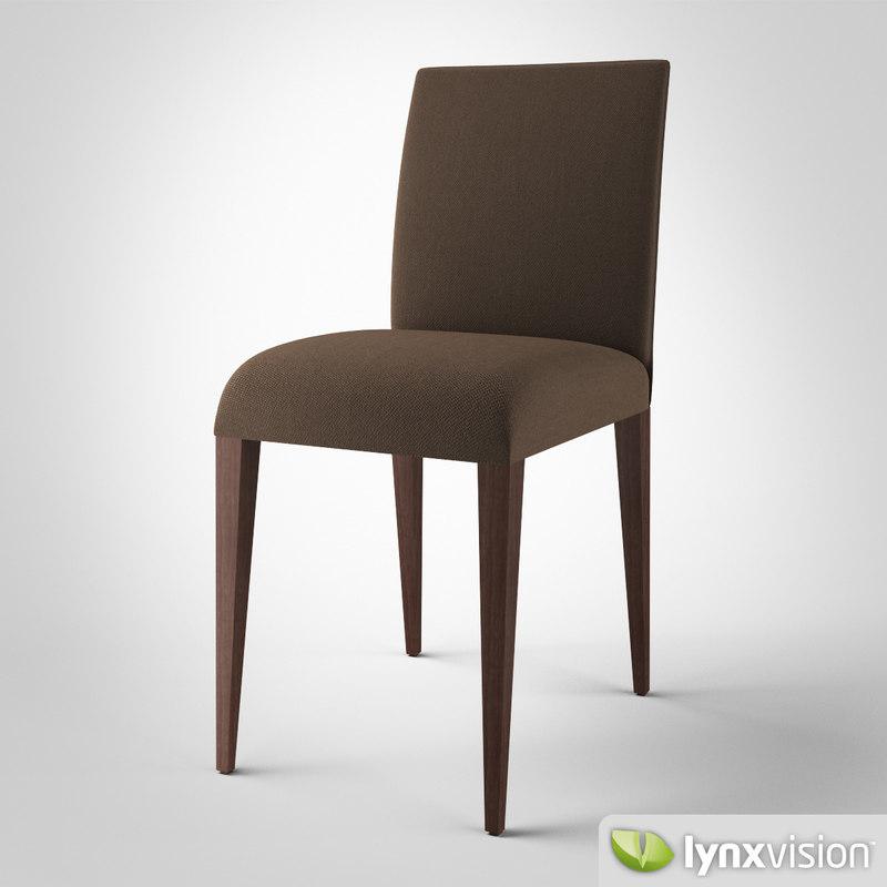 3d amour chair bonaldo model