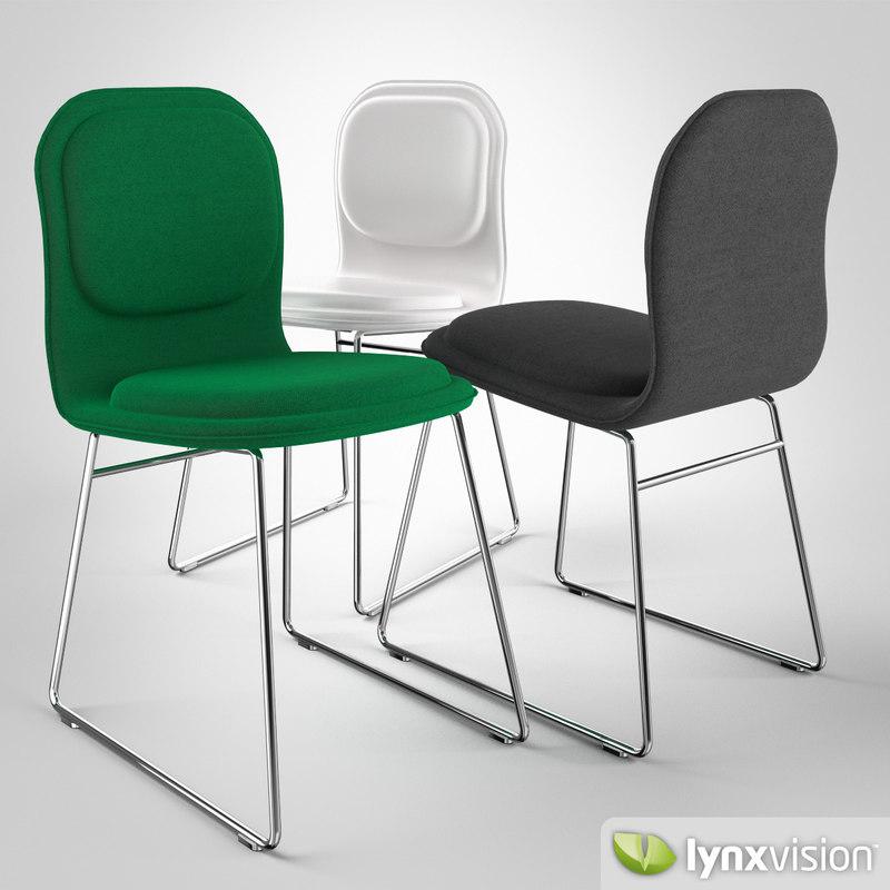 hi pad chair jasper 3d max