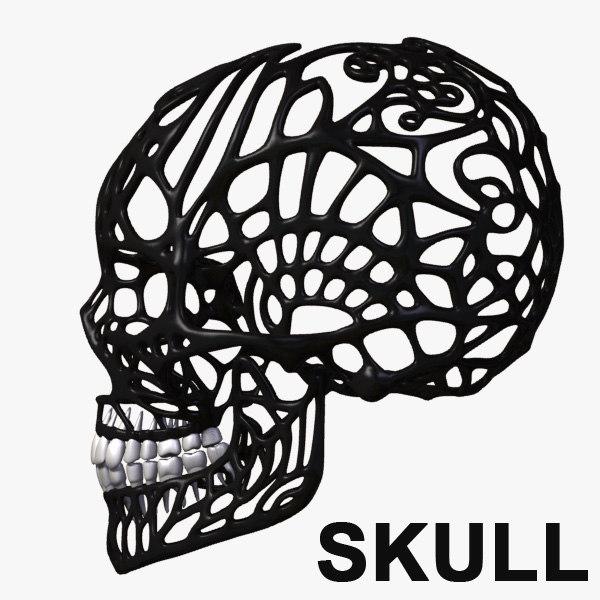 lwo hu skull
