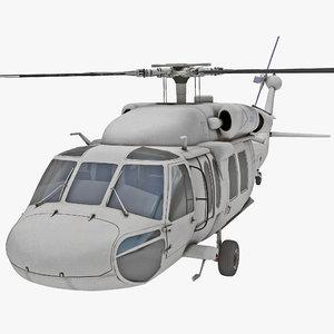 3d model eh-60 black hawk 2