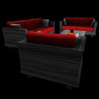 3ds max seating designed