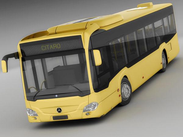 materials bus 3d model