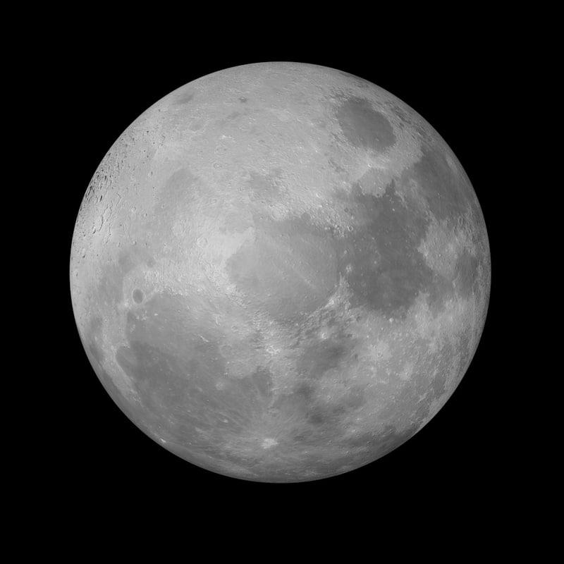 photorealistic moon c4d