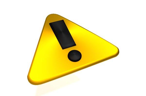 alert symbol 3ds free