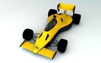 3d race car