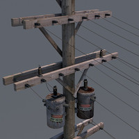 Utility Power Pole