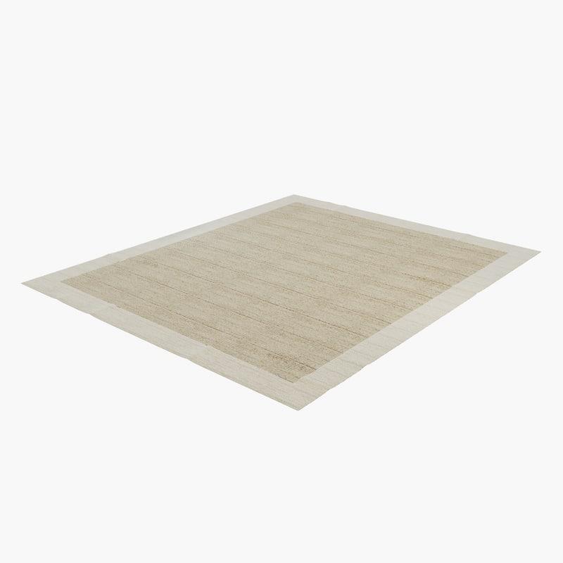 carpet v-ray 3d model