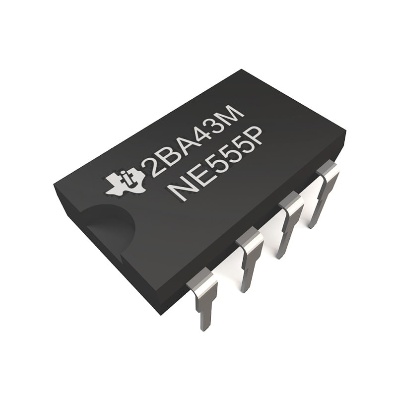 3d model integrated chip dil8