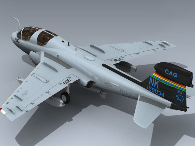 3d navy prowler vaq-139 model