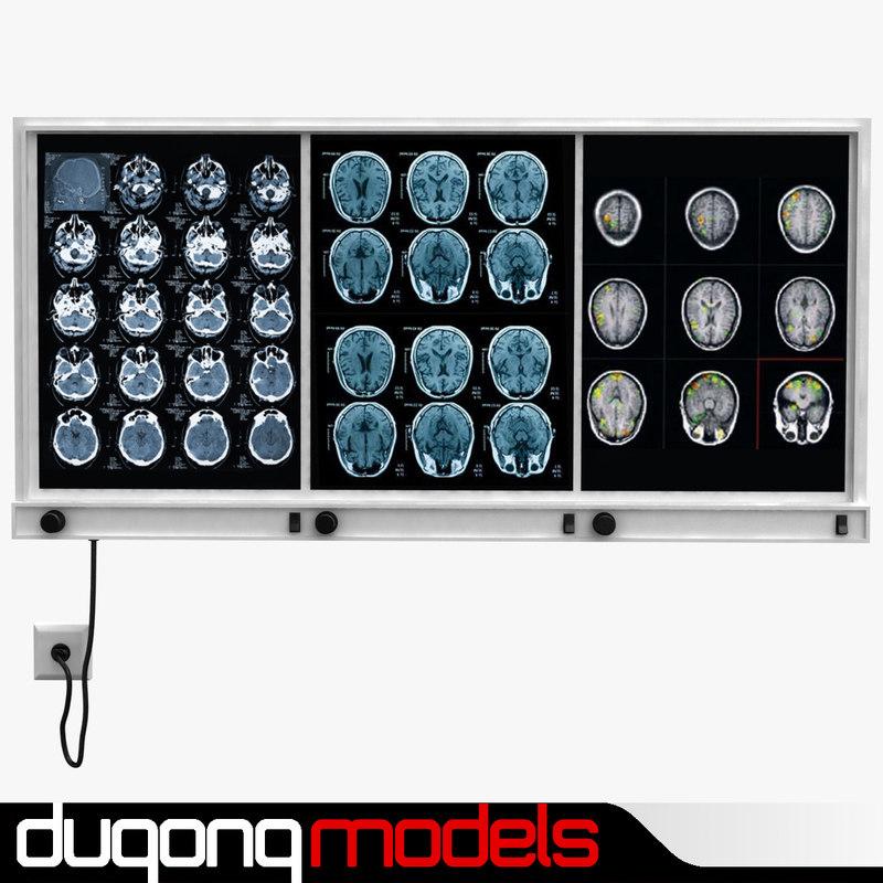 3d dugm04 x light box