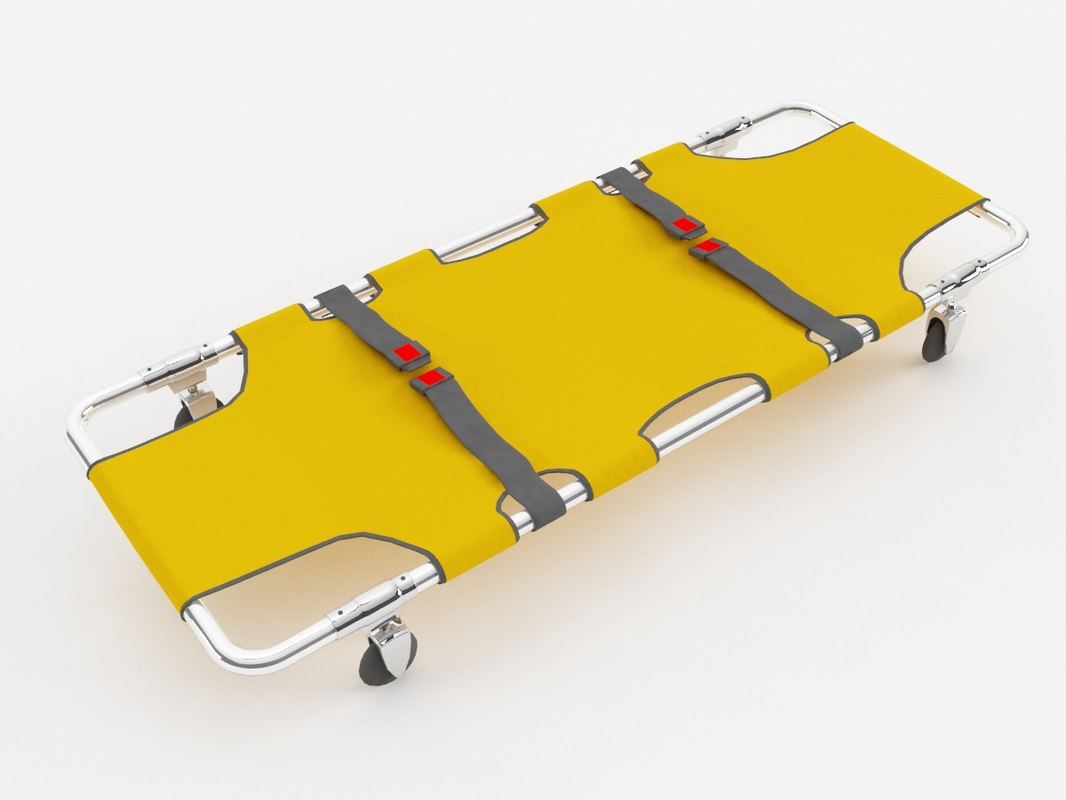 max stretcher wheeled bed