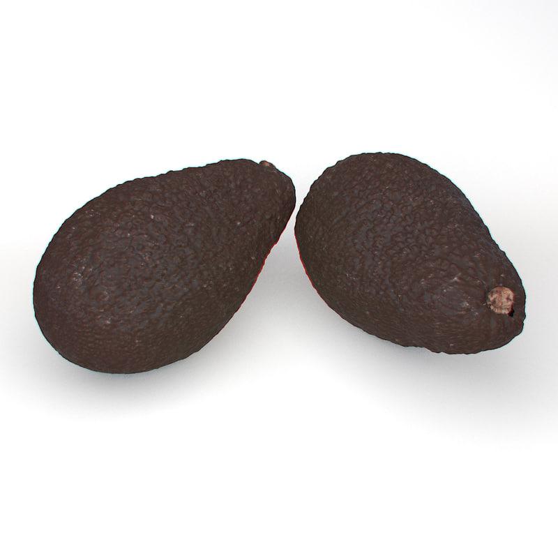 avocado obj