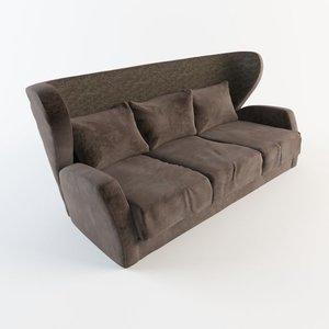divano chloe sofa 3d max