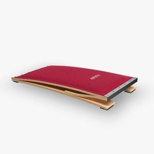 3d model vaulting board