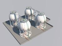 storage facility 3d max
