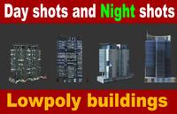 3d building structure apartment