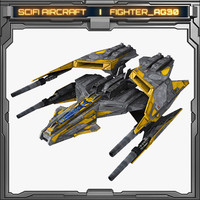 scifi fighter ag30 model
