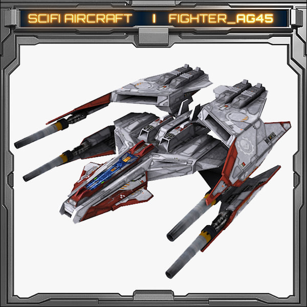 scifi fighter ag45 max
