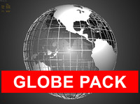 Globe Pack Polygonal