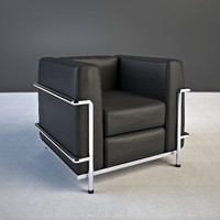 3ds le corbusier armchair lc2