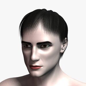 3ds max william hair