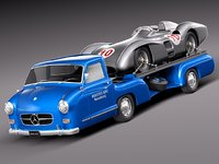 Mercedes  Renntransporter Combo 1954