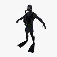 Navy Seal Diver